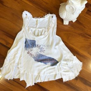 Free people tank or beach cover up!